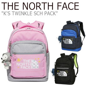 ノースフェイス バックパック THE NORTH FACE メンズ レディース K'S TWINKLE SCH PACK トゥインクル スクールパック NAVY ネイビー BLACK ブラック LAVENDER ラベンダー NM2DK10R/S/T バッグ 【中古】未使用品