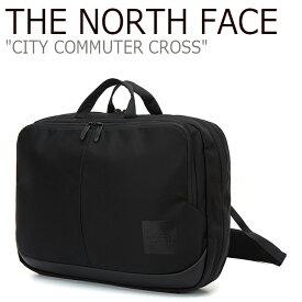 ノースフェイス クロスバッグ THE NORTH FACE メンズ レディース CITY COMMUTER CROSS シティ コミューター クロス BLACK ブラック NN2PL02A バッグ 【中古】未使用品