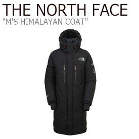 ノースフェイス ダウン THE NORTH FACE メンズ M'S HIMALAYAN COAT ヒマラヤン コート BLACK ブラック NC1DK72A ウェア 【中古】未使用品