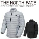 ノースフェイス ダウン THE NORTH FACE メンズ M'S SUMMIT AIR DOWN JACKET サミット エア ダウンジャケット BLACK ブ…