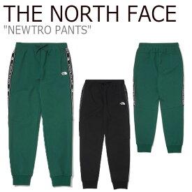 ノースフェイス スウェットパンツ THE NORTH FACE メンズ レディース NEWTRO PANTS ニュートロ パンツ GREEN グリーン BLACK ブラック NP6KL50J/K ウェア 【中古】未使用品