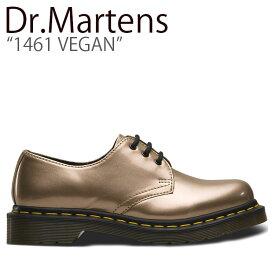 ドクターマーチン スニーカー Dr.Martens メンズ レディース 1461 VEGAN 1461 ビーガン GOLD ゴールド 24864716 シューズ 【中古】未使用品