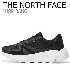 ノースフェイス スニーカー THE NORTH FACE メンズ レディース HOP BANG ホップ バン BLACK ブラック NS93K39J シューズ 【中古】未使用品