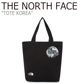 ノースフェイス エコバッグ THE NORTH FACE メンズ レディース TOTE KOREA トート コリア BLACK ブラック NN2PL24A バッグ 【中古】未使用品