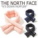 ノースフェイス マフラー THE NORTH FACE キッズ K'S DOWN MUFFLER ダウン マフラー 全3色 BLACK NAVY SALMON ブラッ…