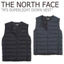 ノースフェイス ライトダウン THE NORTH FACE メンズ M'S SUPERLIGHT DOWN VEST スーパーライト ダウン ベスト BLACK …