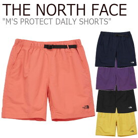 ノースフェイス ハーフパンツ THE NORTH FACE メンズ M'S PROTECT DAILY SHORTS プロテクト デイリー ショーツ 全5色 NS6NL05A/B/C/D/E ウェア 【中古】未使用品