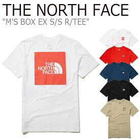 ノースフェイス Tシャツ THE NORTH FACE メンズ M'S BOX EX S/S R/TEE ボックス EX ショートスリーブ ラウンドTEE 全5色 NT7UL03A/B/C/D/E ウェア 【中古】未使用品