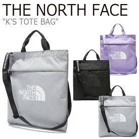 ノースフェイス クロスバッグ THE NORTH FACE メンズ レディース K'S TOTE BAG トートバッグ LILAC ライラック BLACK ブラック GREY グレー NN2PL09R/S/T バッグ 【中古】未使用品
