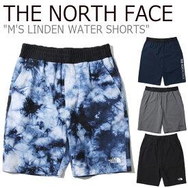 ノースフェイス 水着 THE NORTH FACE メンズ M'S LINDEN WATER SHORTS リンデン ウォーター ショーツ 海水パンツ サーフパンツ 全4色 NS6NK05J/K/L/M ウェア