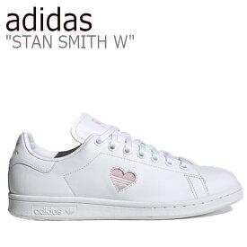 アディダス スタンスミス スニーカー adidas メンズ レディース STAN SMITH W スタン スミス WHITE ホワイト FX0059 シューズ 【中古】未使用品