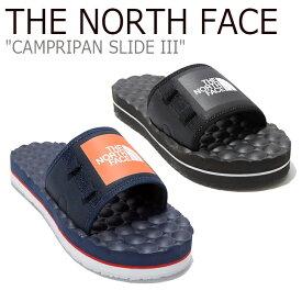 ノースフェイス サンダル THE NORTH FACE メンズ レディース CAMPRIPAN SLIDE III キャンプリパン スライド III BLACK ブラック NAVY ネイビー NS98L15A/B/J/K シューズ 【中古】未使用品
