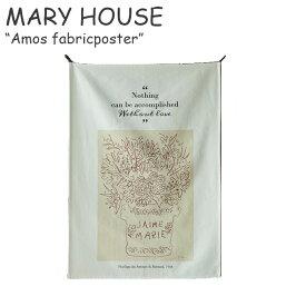 マリーハウス タペストリー MARY HOUSE Amos fabricposter アモス ファブリックポスター 韓国雑貨 ACC