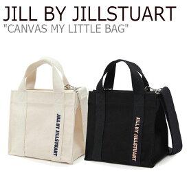 ジル バイ ジルスチュアート トートバッグ JILL BY JILLSTUART レディース CANVAS MY LITTLE BAG キャンバス マイ リトルバッグ BLACK ブラック IVORY アイボリー JLBA0F300BK/1I2 JLBA1E300BK バッグ