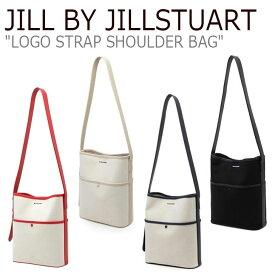 ジル バイ ジルスチュアート トートバッグ JILL BY JILLSTUART レディース LOGO STRAP SHOULDER BAG ロゴ ストラップ ショルダーバッグ RED レッド NAVY ネイビー IVORY アイボリー BLACK ブラック JLBA0F555BK/6I2/7N2/8R2 バッグ
