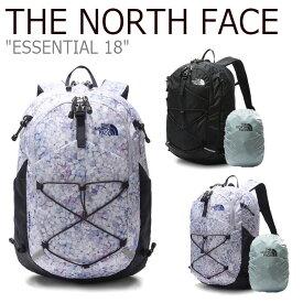 ノースフェイス バックパック THE NORTH FACE メンズ レディース ESSENTIAL 18 エッセンシャル 18 BLACK ブラック BLOSSOM ブロッサム NM2SL11A/B バッグ 【中古】未使用品