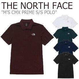 ノースフェイス ポロシャツ THE NORTH FACE メンズ M'S CMX PRIME S/S POLO クールマックス プライム ショートスリーブ ポロ GREEN グリーン BLACK ブラック NAVY ネイビー WINE ワイン WHITE ホワイト NT7PL01A/B/C/D/E ウェア 【中古】未使用品