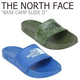 ノースフェイス サンダル THE NORTH FACE メンズ BASE CAMP SLIDE II ベース キャンプ スライド II KHAKI カーキ BLUE ブルー NS98J82A/B シューズ 【中古】未使用品