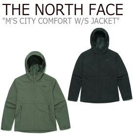ノースフェイス ジャケット THE NORTH FACE メンズ M'S CITY COMFORT W/S JACKET シティー コンフォートジャケット OLIVE オリーブ BLACK ブラック NJ2WM00A/B ウェア 【中古】未使用品