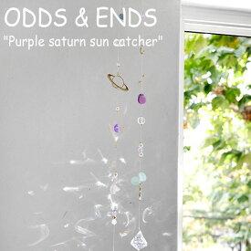 オッズアンドエンズ モビール ODDS&ENDS Purple saturn sun catcher パープル サターン サンキャッチャー 韓国雑貨 2575600 ACC