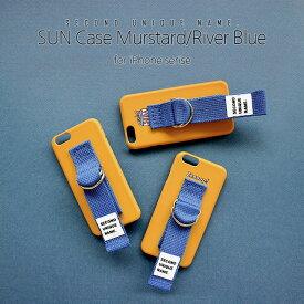 iPhone XS ケース iPhone XR ケース iPhone 8 ケース 韓国 ベルト ケース iPhone XS MAX iPhone X iPhone 7 iPhone 8 Plus iPhone 6s iPhone SE SECOND UNIQUE NAME Murstard River Blue ベルト カバー アイフォン メーカー正規商品 セカンドユニークネーム お取り寄せ