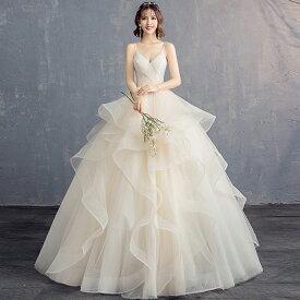 ウェディングドレス 二次会 白 Aライン エンパイアライン 花嫁ドレス 前撮り 後撮り ハネムーン ロケーションフォト