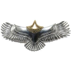 タディアンドキング TADY&KING goro's ゴローズ 魂継承 大 イーグル 頭金 tkh029 メンズ レディース eagle K18 ペンダント イーグルネックレス フェザー ネックレスメンズ 18k 鷲 鷹 翼 ネイティブ シル