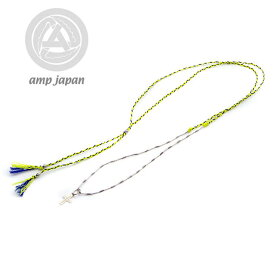 amp japan collection アンプジャパン Silk necklace シルクネックレス