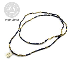 amp japan collection アンプジャパン Onyx necklace オニキスネックレス