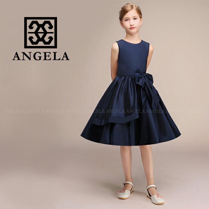 子供ドレス 発表会 女の子 キッズドレス 結婚式 ピアノ発表会 舞台衣装 大きなリボン