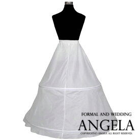 6bd969afbec2f パニエ大人ドレス用 2段ワイヤー調整可能 パニエ チュールなしの簡易式ロング