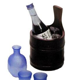 竹食器 清酒クーラー 茶 24-7