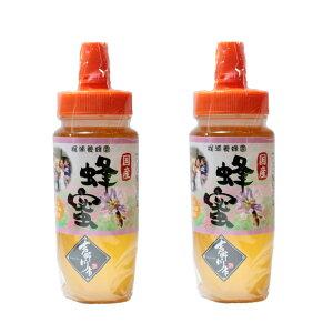 徳島県産はちみつ 純粋はちみつ 高級はちみつ 百花 国産はちみつ 500g×2本セット チューブ入り 送料無料