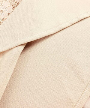 結婚式パーティードレス大きいサイズパンツドレスドレスパンツお呼ばれ袖ありケープケープ風レースドレープ半袖二次会披露宴タックパンツスーツワイドパンツフォーマルきれいめ体型カバーフォーマルレディースUネックセットアップ