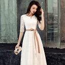 【送料無料】Dressystar(ドレッシースター)パーティードレス ワンピース 結婚式 ドレス フォーマルドレス お呼ばれ フォーマル 大きいサイズ バレンタイン 母の日 入学式 上品 20代30代40代