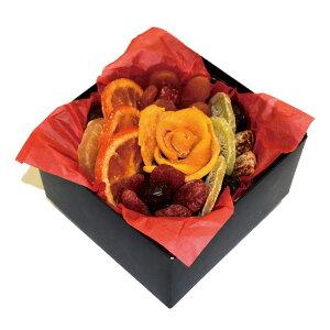 【ドライフルーツギフト・フラワーガーデン(スカーレット・レッド)】ドライフルーツ ギフト プレゼント お祝い デーツ マンゴー キウイ アプリコット オレンジ いちご いちじく パイナ