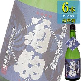 菊駒酒造 菊駒 純米吟醸 720ml瓶 x 6本ケース販売 (清酒) (日本酒) (青森)