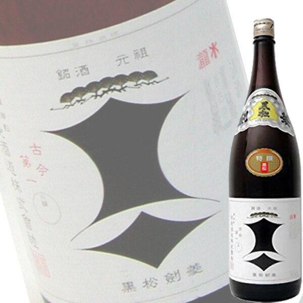 【単品】剣菱酒造「黒松剣菱 本醸造」1.8L瓶【清酒】【日本酒】【兵庫】
