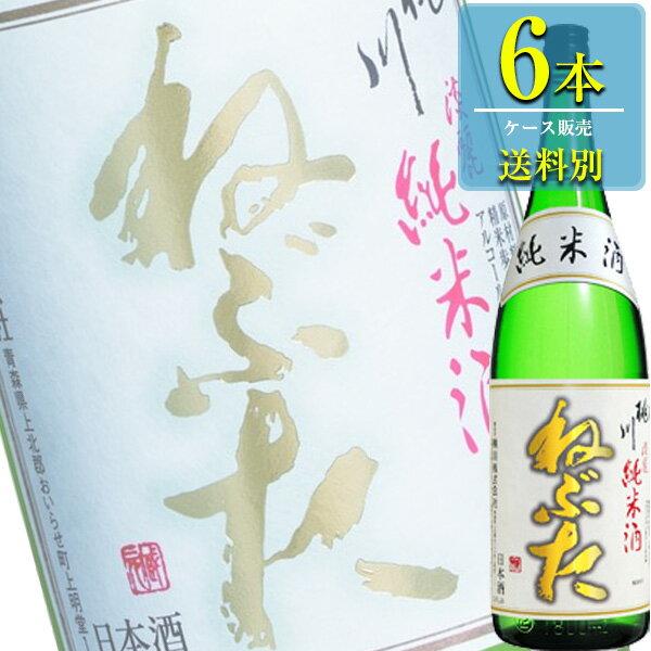 桃川「ねぶた 淡麗純米酒」1.8L瓶x6本ケース販売【清酒】【日本酒】【青森】