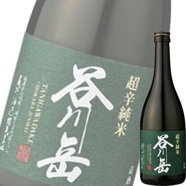 【単品】永井酒造「谷川岳 超辛 純米」720ml瓶【清酒】【日本酒】【群馬】