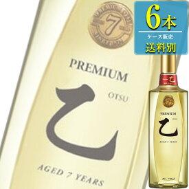 眞露 (ジンロ) プレミアム 乙 25% 750ml瓶 x 6本ケース販売 (JINRO) (乙類焼酎) (韓国焼酎)