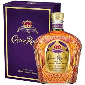 クラウン ローヤル 40% 750ml瓶 (キリン) (カナディアンウイスキー) (ブレンデッド)