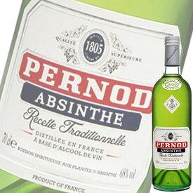 (単品) ペルノ アブサン (68%) 700ml瓶 (ペルノリカール) (ハーブ系リキュール)