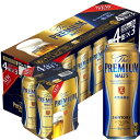 サントリー ザ プレミアム モルツ 500ml缶 x 12本ケース販売 (4缶パック×3) (プレミアムビール) (プレモル)
