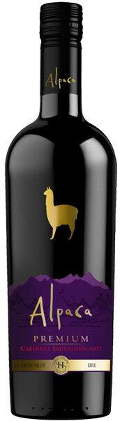 (単品)アサヒサンタヘレナ「アルパカプレミアムカベルネ・ソーヴィニヨン」750ml瓶(チリ)(赤ワイン)(フルボディ)(AS)