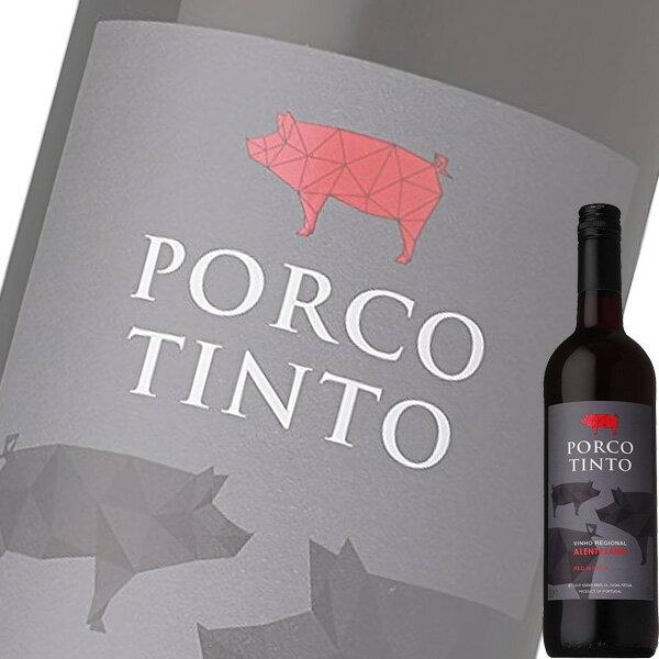 (単品) サントリー ポルコ ティント 肉専用ワイン (赤) 750ml瓶 (ポルトガル) (赤ワイン) (ミディアム) (SU)