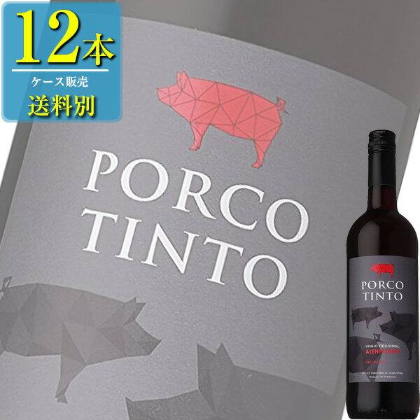 サントリー ポルコ ティント 肉専用ワイン (赤) 750ml瓶 x12本ケース販売 (ポルトガル) (赤ワイン) (ミディアム) (SU)