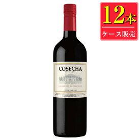 タラパカ コセチャ カベルネソーヴィニヨン (赤) 750ml瓶 x 12本ケース販売 (チリ) (赤ワイン) (ミディアム) (LJ)