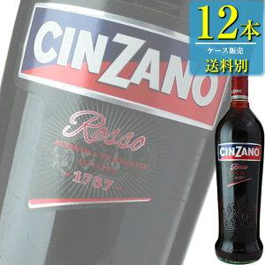チンザノ ベルモット ロッソ (赤) 1L瓶 x 12本ケース販売 (イタリア) (ベルモット) (SNT)