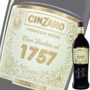 (単品) チンザノ ベルモット1757 ロッソ (赤) 1L瓶 (イタリア) (ベルモット) (SNT)